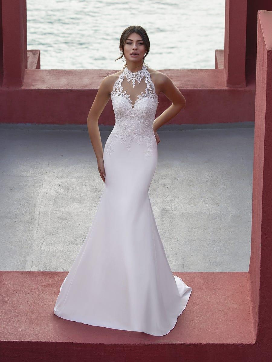 Skyblue-trouwjurk-mermaid-halter-1